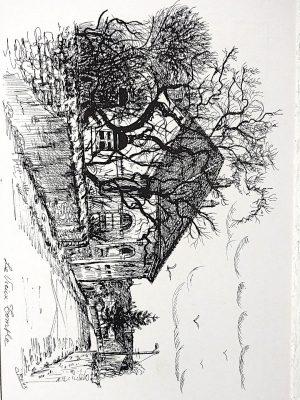 Le vieux temple à Courcelles-Chaussy - 4