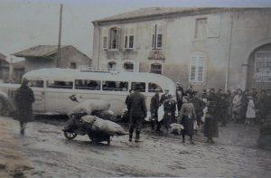 Expulsion de Courcelles-Chaussy en 1940
