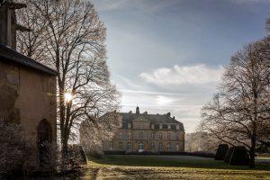 Visite château de Pange par le Syndicat des Initiatives de Courcelles-Chaussy